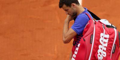 La sorpresa del día la dio el búlgaro Grigor Dimitrov, quien se fue eliminado en la primera ronda. Foto:Getty Images