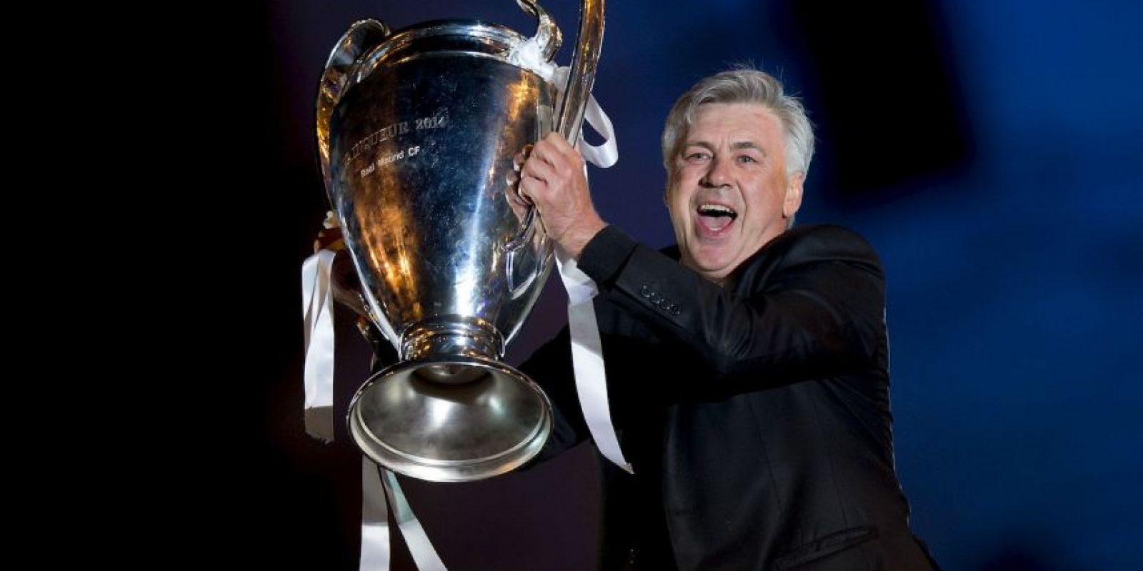 Carlo Ancelotti se despidió del Real Madrid, pero quedará en el corazón de aficionados y jugadores. El entrenador italiano en sólo dos años se ganó el cariño y el respeto de casi el 100% del madridismo. Foto:Getty Images