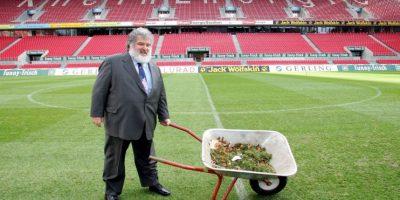 Fue miembro del Comité Ejecutivo de la FIFA de 1996 a 2013 Foto:Getty Images