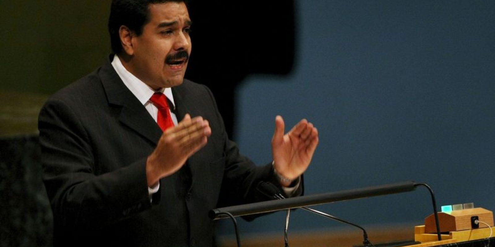 El presidente venezolano, Nicolás Maduro, ha anunciado este martes una remodelación de Gobierno. Foto:Getty Images