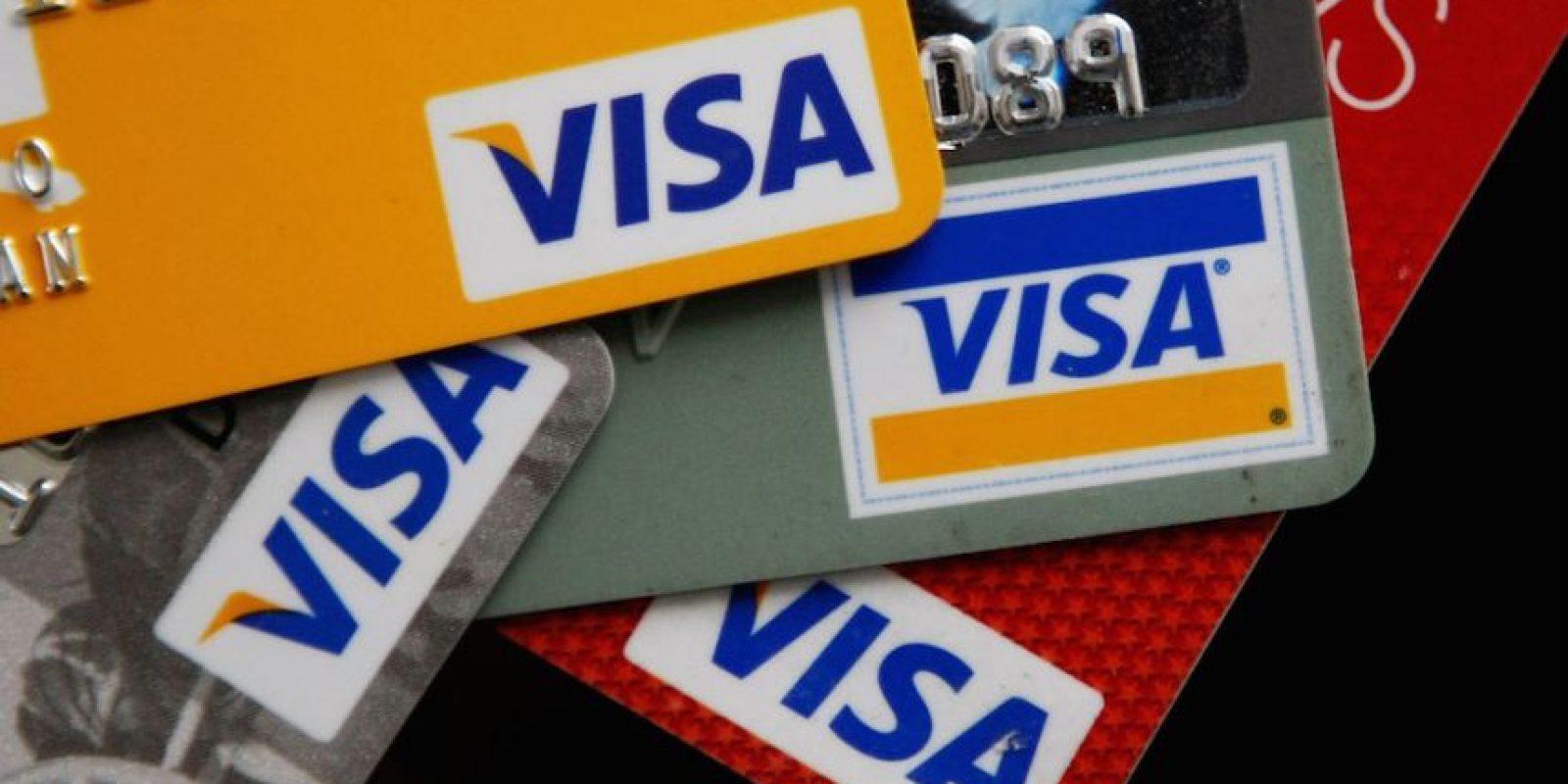 5) Visa – 92 mil millones de dólares. Foto:Getty Images