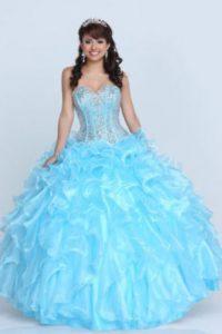 Este es un vestido de 15 años inspirado en ella. Foto:vía New York Dress