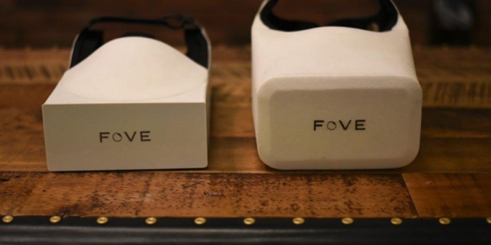 Estos son los primeros prototipos de FOVE Foto:FOVE / Kickstarter
