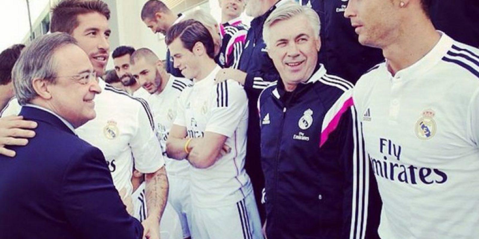 Ancelotti fue muy respetuoso con todos los integrantes del Real Madrid, desde las más grandes figuras del vestuario, hasta los más modestos trabajadores del club. Esto provocó que como recompensa, todos le tuvieran un gran respeto a él. Foto:Vía instagram.com/mrancelotti