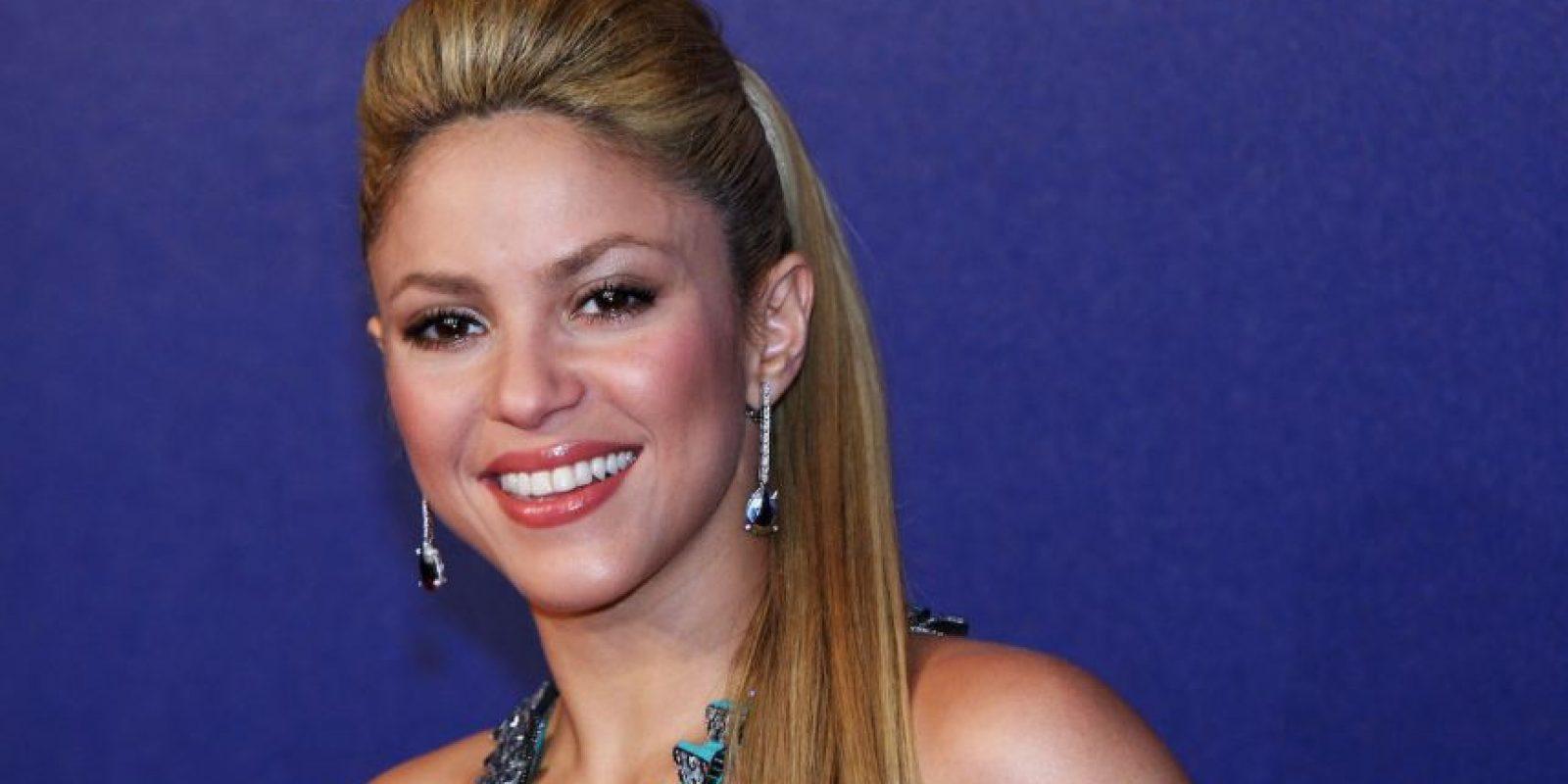 Shakira se encuentra en el número 81. Foto:Getty Images