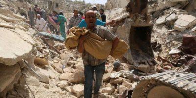 """Además, el informe destacó el conflicto en Libia y la guerra en la Franja de Gaza que duró 50 días, """"La más letal desde la Guerra de los Seis Días en 1967"""". Foto:AFP"""