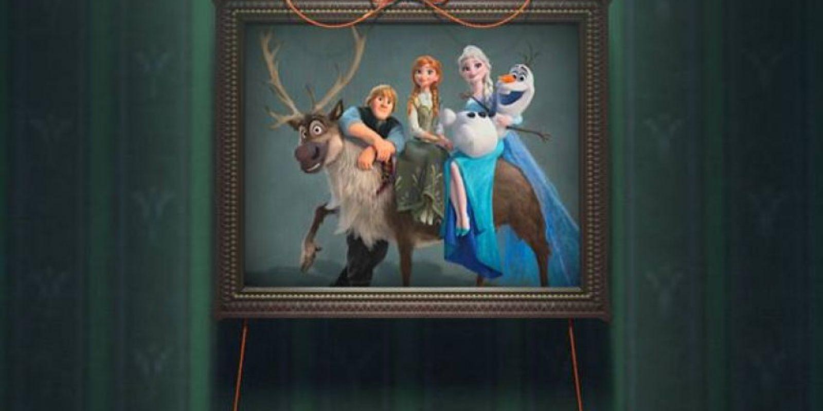 """En los bocetos, Elsa era mala hasta que los productores escucharon la canción """"Let it go"""" en la versión latina y cambiaron todo el personaje. Foto:vía facebook.com/DisneyFrozen"""
