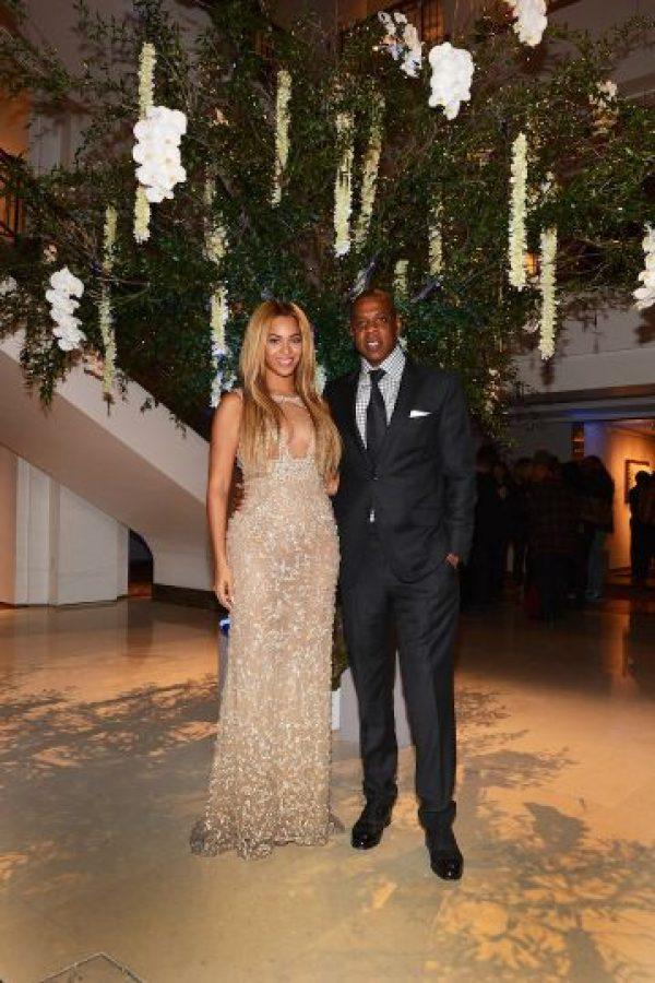 El 4 de abril de 2008, Beyonce y Jay Z se casaron en París, Francia. Foto:Getty Images