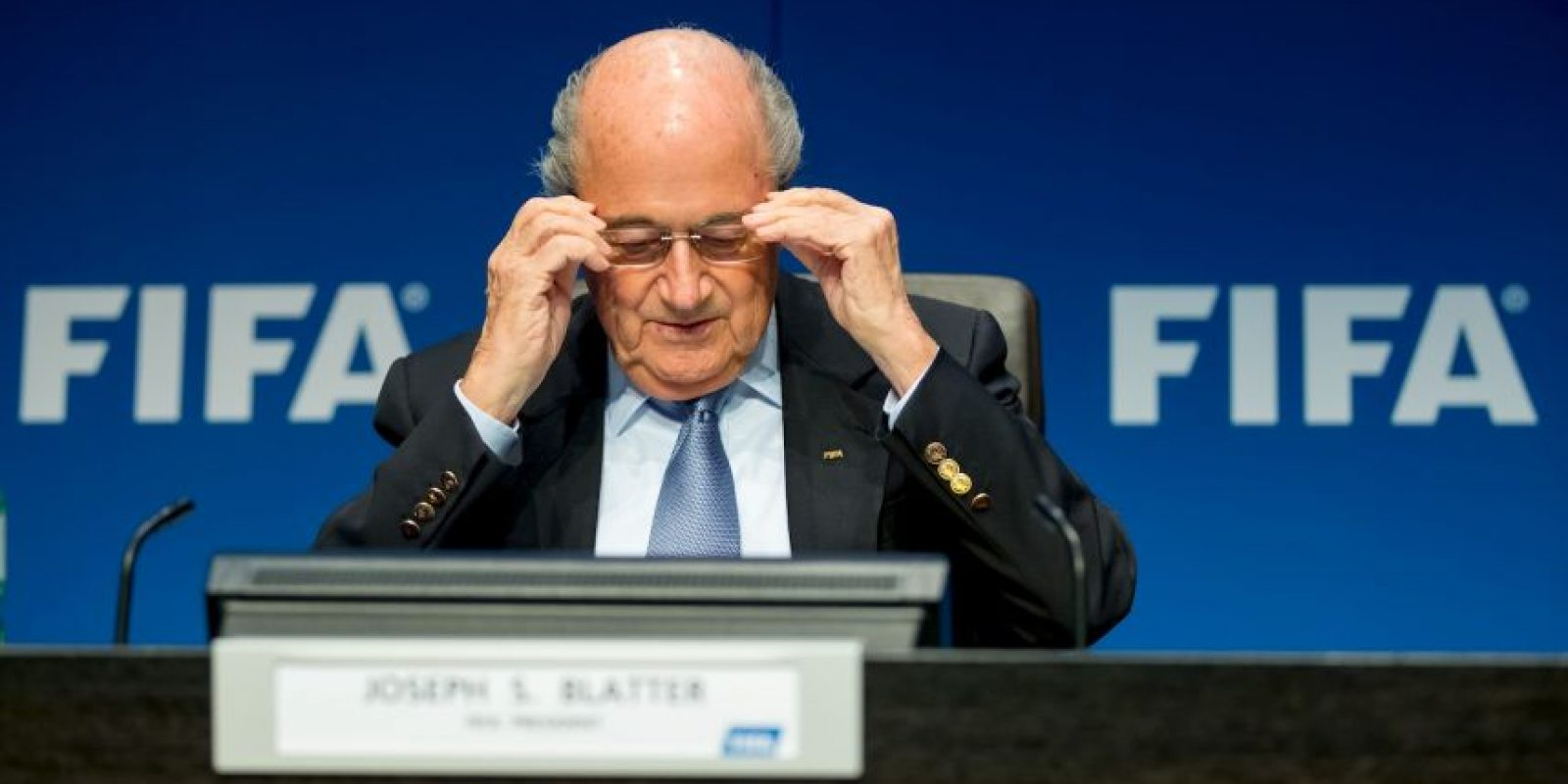 1. Blatter canceló tres eventos públicos Foto:Getty Images