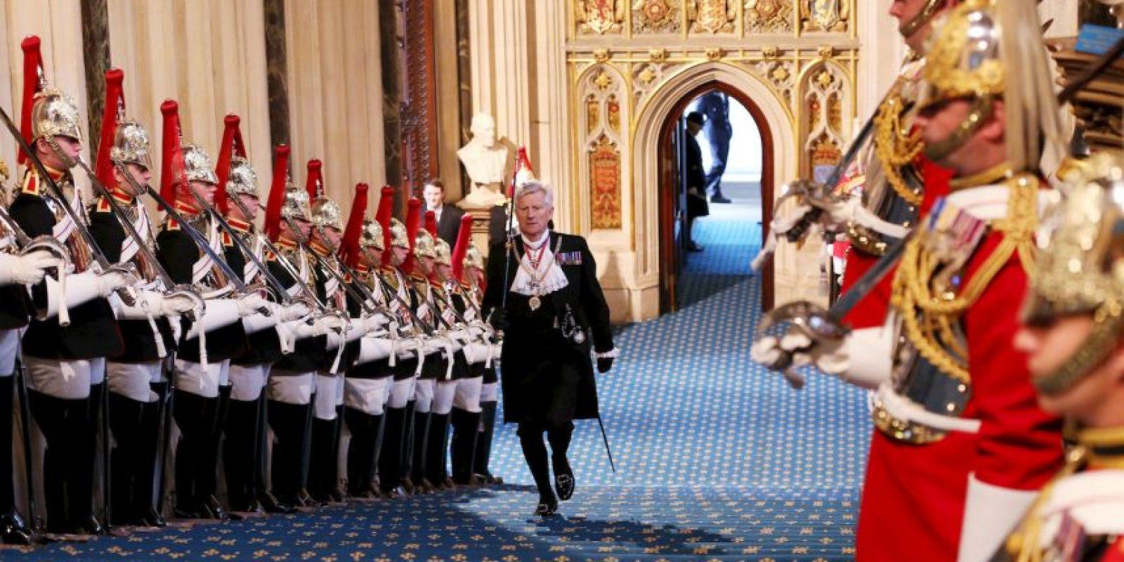 En la actividad se presentó el plan de trabajo del primer ministro de Reino Unido, David Cameron. Foto:Getty Images