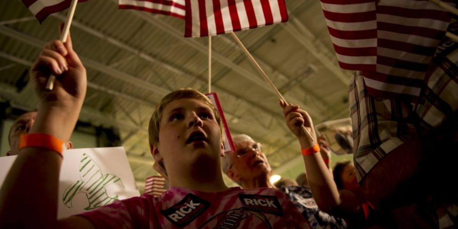 """""""Las familias trabajadoras no necesitan otro presidente ligado a grandes gobiernos o a grandes cantidades de dinero"""" Foto:Getty Images"""