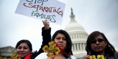 La petición para detener el curso de dicha Orden Ejecutiva viene de una demanda de 26 estados. Foto:Getty Images
