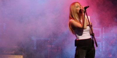 """En 2008, presentó su primer álbum """"Eternidad"""" Foto:vía facebook.com/nicolenatalino"""