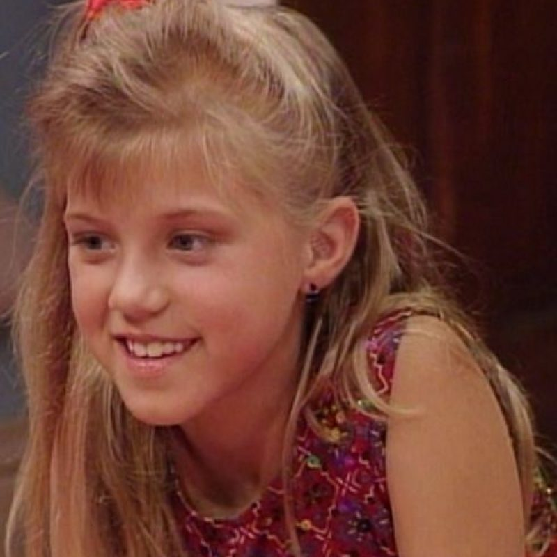"3. Jodie Sweetin fue ""Stephanie Tanner"", en ""Full House"", desde 1987 hasta 1995. Foto:vía ABC"