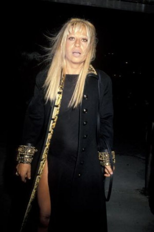 1. Donatella Versace. Foto: vía Getty Images