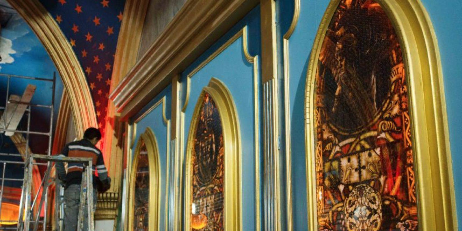 Inspirado en el arte gótico, barroco y de medieval. Foto:Juan Pablo Pino-Publimetro