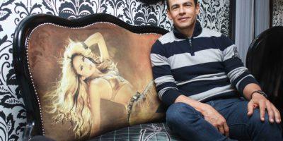 Edison Ramírez, en uno de los ambientes 'Metro', bar para conversar. Foto:Juan Pablo Pino-Publimetro