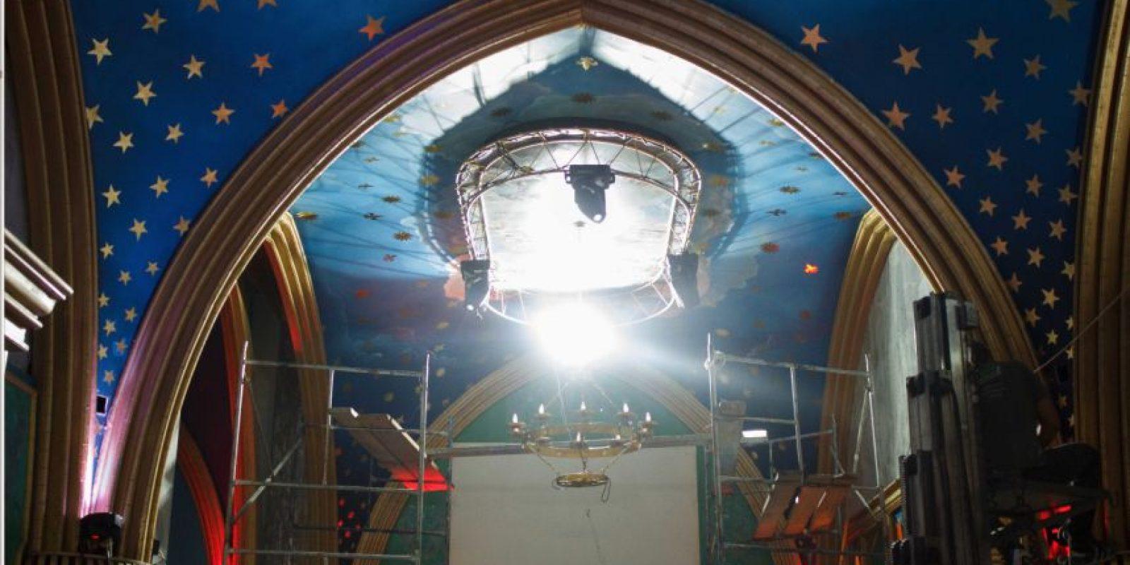 Los detalles de diseño y arreglos para Templo, el nuevo lugar que ofrecerá Theatron. Foto:Juan Pablo Pino-Publimetro