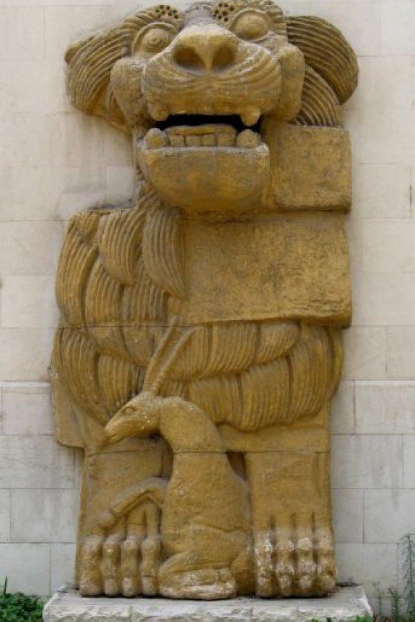Era la Diosa Madre de Palmira y su símbolo es el León Foto:Wikimedia