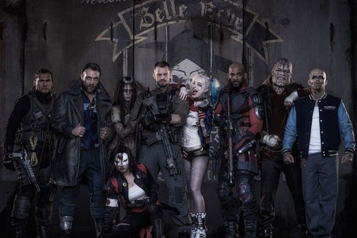 """Primeras imágenes de """"Suicide Squad"""" Foto:Twitter/DavidAyerMovies"""