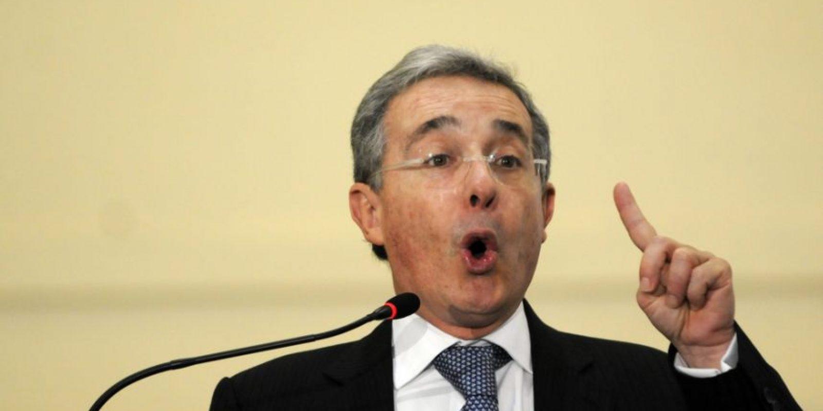 Álvaro Uribe. Imagen Por: Inagen: EFE