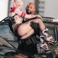 "Encuentro cercano entre ""Harley Quinn"" y ""Deadshot"" Foto:Grosby Group"