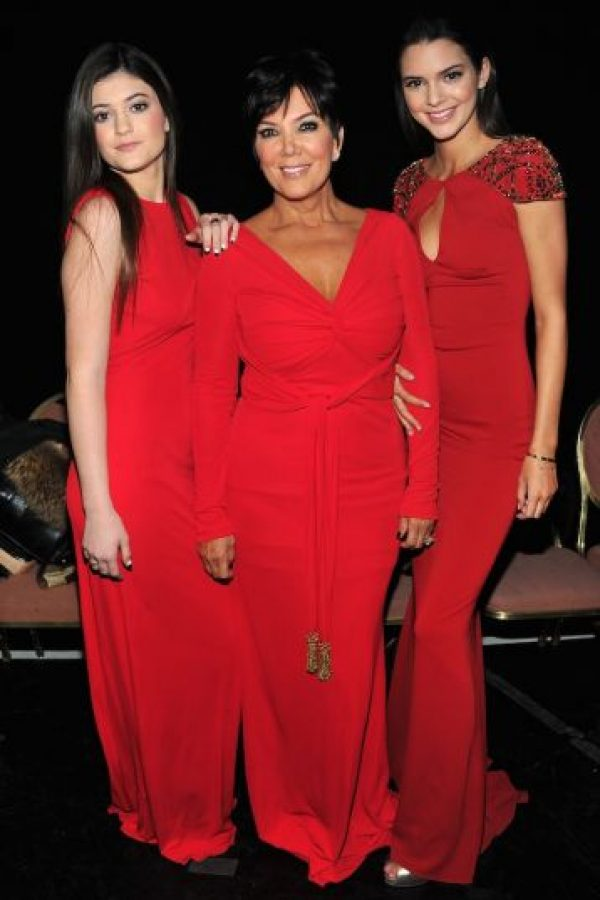 Kris, Kylie y Kendall Jenner Foto: Getty Images