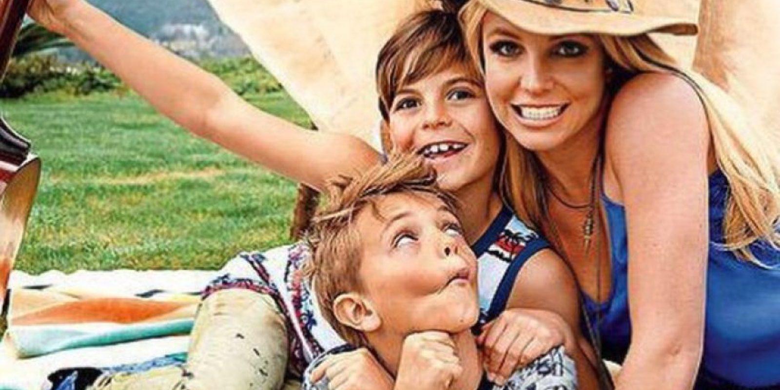 """En 2010, Fernando Flores, un ex guardaespaldas de la intérprete reveló a la revista """"The Sun"""" que convivir con ella """"era una pesadilla"""" y aseguró que alimentaba a sus hijos con cosas poco saludables y que los maltrataba físicamente. Foto:vía instagram.com/britneyspears"""