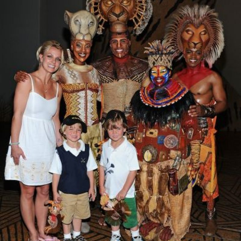 Britney, Jaden y Sean Federline Foto: Getty Images