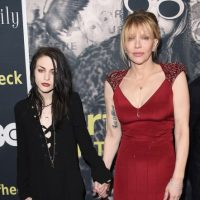 Frances Bean Cobain y Courtney Love Foto: Getty Images
