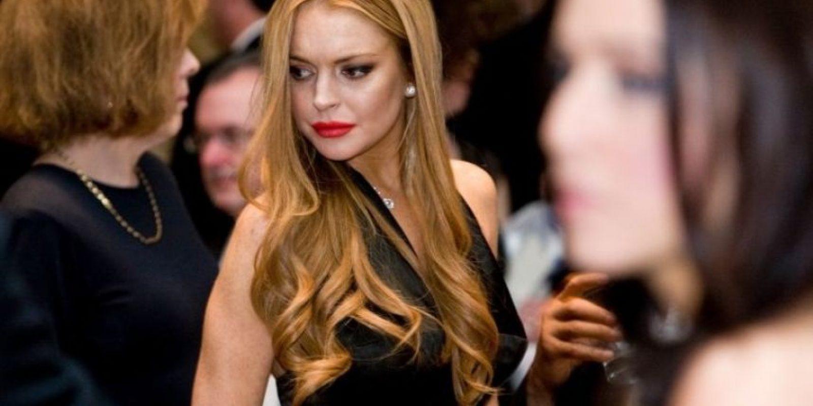 Tres años después, Lohan logró concluir su sentencia. Foto:Getty Images