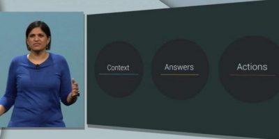 """Con la nueva función de """"Now on Tap"""", podrá contestar preguntar que hagan los usuarios y ofrecerá sugerencias instantáneas dependiendo de dónde se encuentren. Foto:Google"""