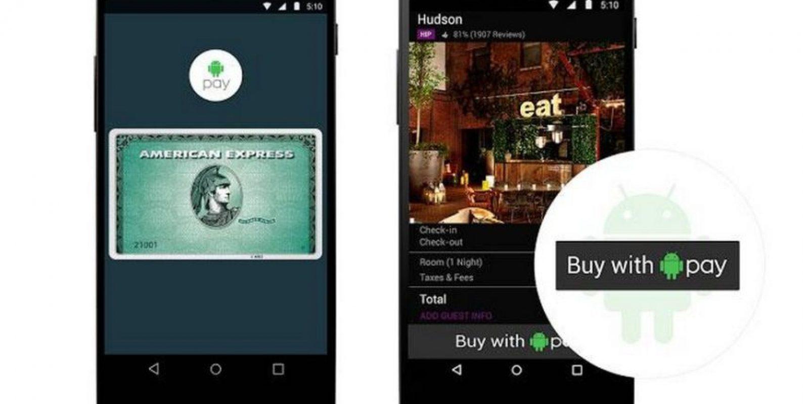 Es el sistema de pagos móviles de Google que incorpora el escáner de huellas dactilares y utilizará la tecnología NFC y Host Card Emulation. Disponible por el momento solo en Estados Unidos. Foto:Google