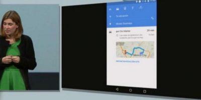 Para que nunca se pierdan, los mapas ahora estarán disponibles sin conexión a la red, también pueden buscar direcciones por voz y escuchar su ruta. Foto:Google