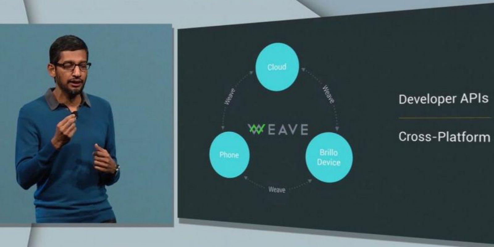 Este software ayudará a que se conecten productos como cerraduras, refrigeradores, sistemas para controlar el clima, etc. (Internet de las cosas) mediante Wave, el cual se lanzará a finales de este año, meses después de Brillo. Foto:Google