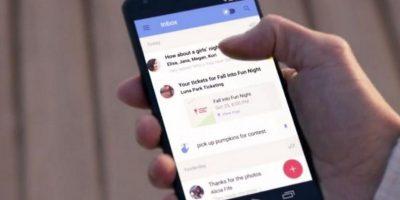 Es el cliente de correo de Google en el que pueden almacenar varias cuentas y desde ahora cualquier persona lo puede descargar sin necesidad de una invitación. Foto:Google