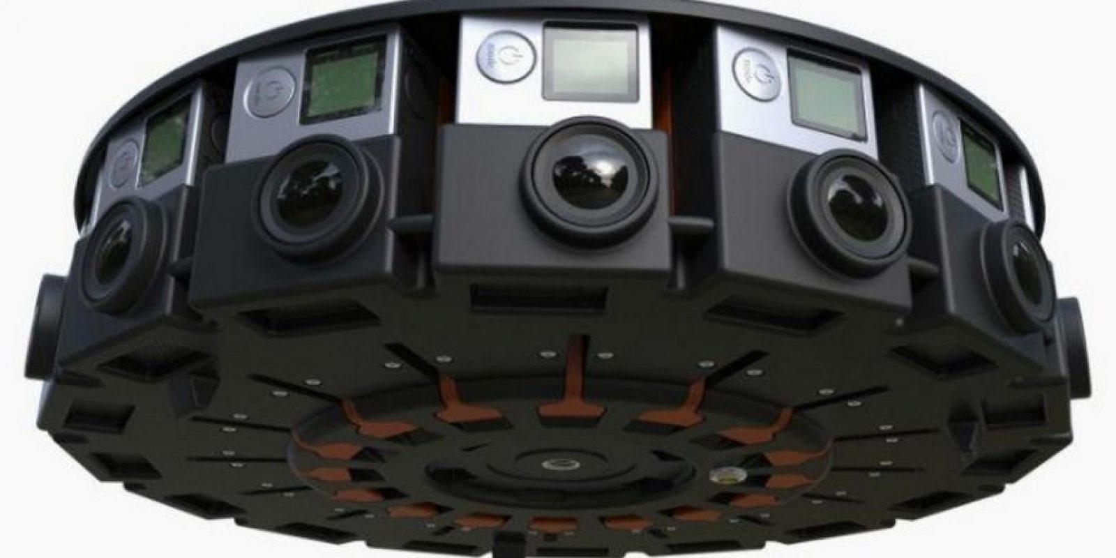 Google y GoPro se asociaron para grabar realidad virtual con 16 cámaras y el video se podrá reproducir en YouTube. Foto:Google