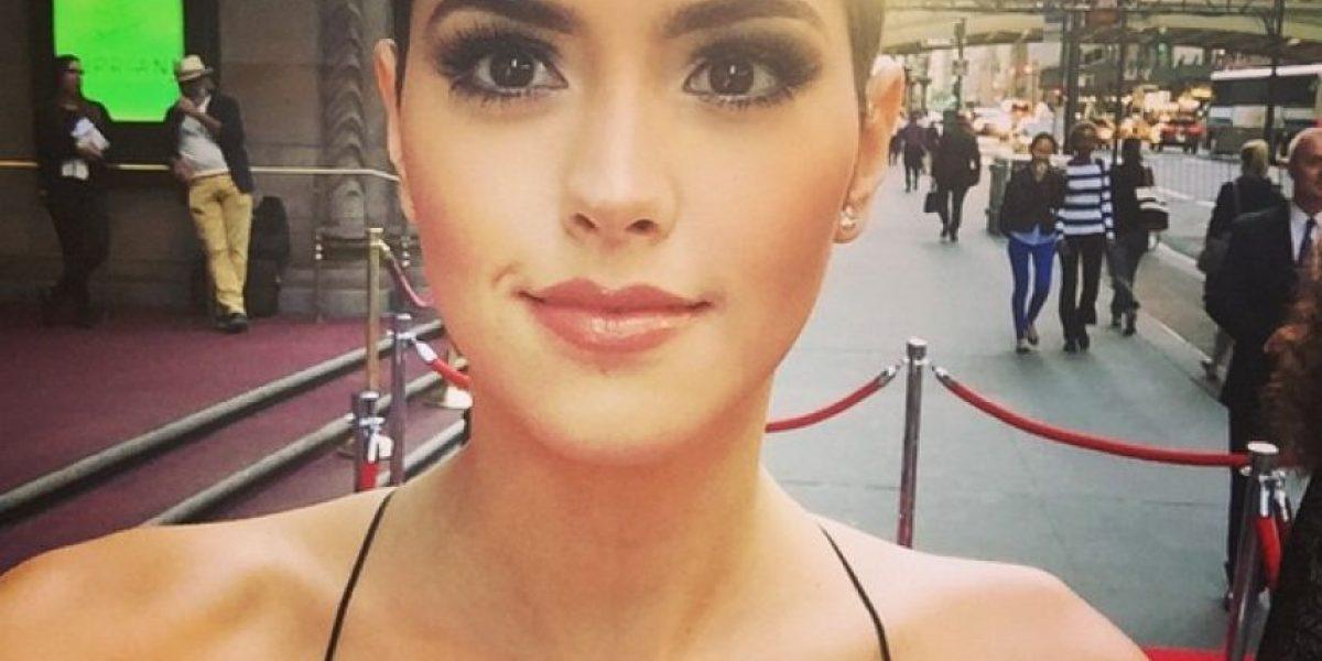 Paulina Vega se habría operado la nariz antes de Miss Universo