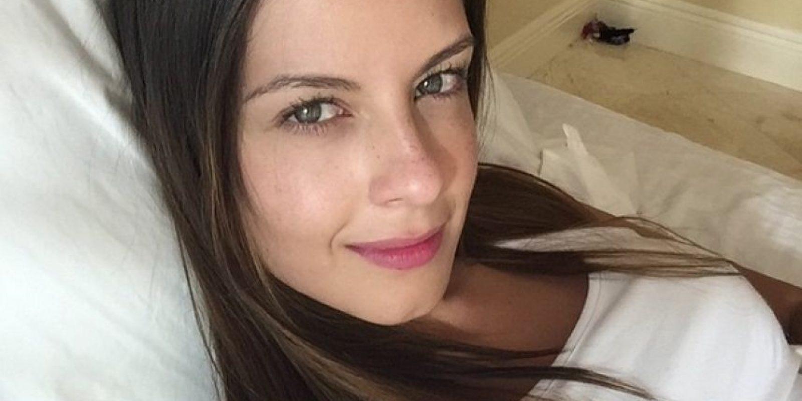 La presentadora de RCN sufrió un accidente en la vía La Calera Foto:Instagram laura_acunarcn