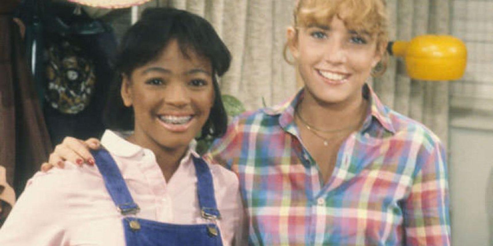 """5. Dana Plato fue """"Kimberly"""" en """"Blanco y Negro"""", serie transmitida desde 1978 hasta 1986. Foto:vía NBC"""