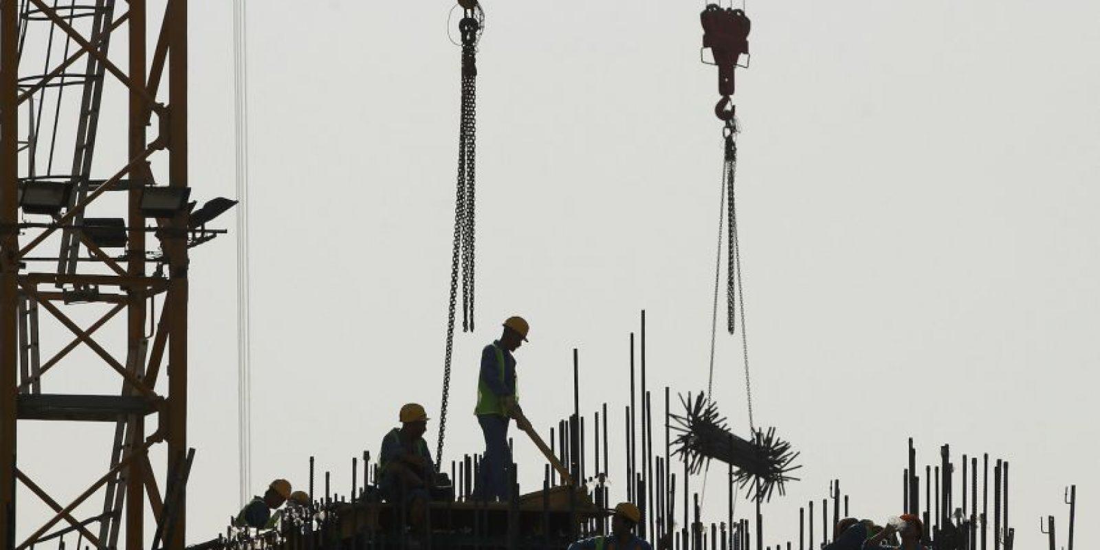 8. Malas condiciones de trabajadores en Catar Foto:Getty Images