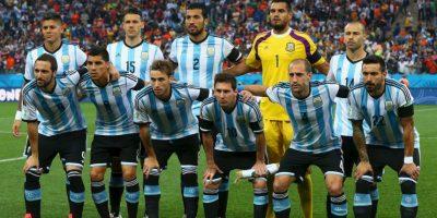 Ellos son los 23 futbolistas que jugarán la Copa América con Argentina. Foto:Getty Images