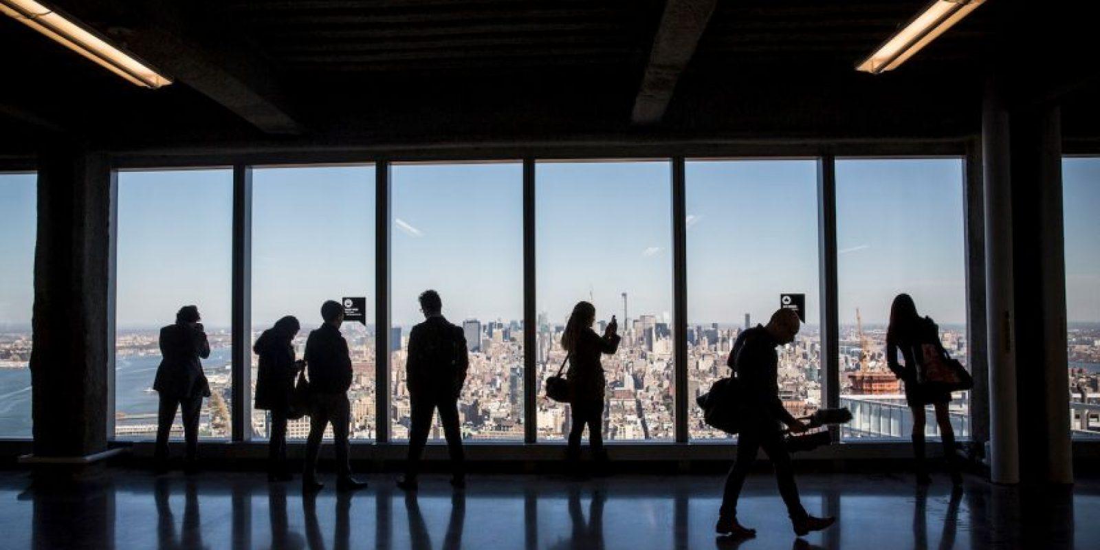 Los visitantes de la cima del edificio también tendrán un espectáculo virtual. Foto:Getty Images