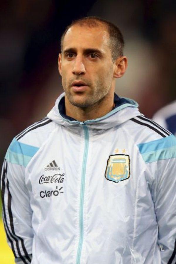 DEFENSAS: Pablo Zabaleta (Manchester City, Inglaterra) Foto:Getty Images