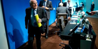 A pesar de las acusaciones de corrupción a la FIFA, es favorito para ganar las elecciones presidenciales Foto:Getty Images