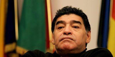 """""""A mí me vinieron a convencer con dinero y yo mi dinero me lo gano trabajando, no cagando a la gente"""", expresó Maradona en una ocasión que aseguró, la FIFA intentó sobornarlo. Foto:Getty Images"""