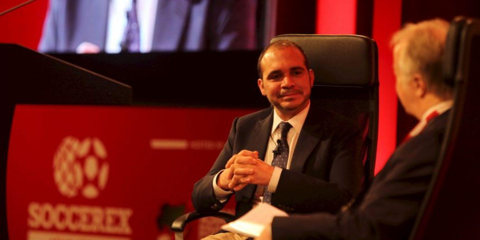 El Príncipe Ali Bin Al Hussein partirá como víctima en las elecciones del viernes Foto:Getty Images