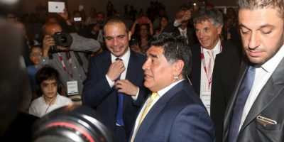 Diego Maradona ha sido uno de sus más fuertes críticos Foto:Getty Images