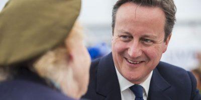 El primer ministro británico mostró su respaldo a la candidatura del Príncipe Ali Bin Al Hussein Foto:Getty Images
