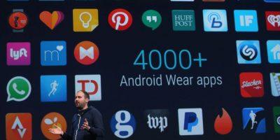 Existen más de cuatro mil aplicaciones para los relojes inteligentes y una próxima actualización permitirá usar emojis, hacer gestos con la muñeca, entre otras. Foto:Getty Images